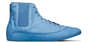 EASY FIVE HI LEATHER BLUE LABEL A.039