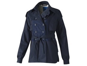 SHORT TRENCH JACKET ORIGINALS BLUE